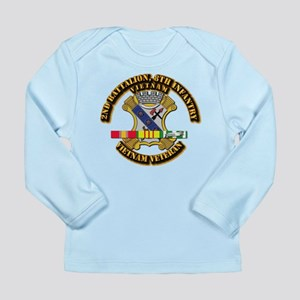 2nd Battalion, 8th Infantry Long Sleeve Infant T-S
