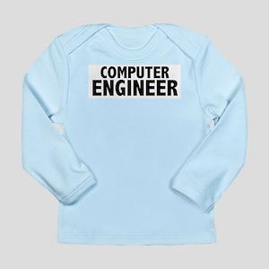 Computer Engineer Long Sleeve Infant T-Shirt