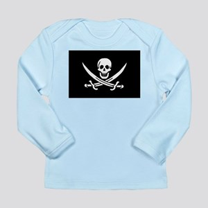 Calico Jack Rackham Jolly Rog Long Sleeve Infant T