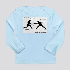 Hit First Long Sleeve Infant T-Shirt