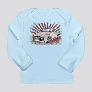 1956 Ford Truck Long Sleeve Infant T-Shirt