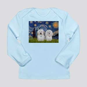 Starry / Coton Pair Long Sleeve Infant T-Shirt