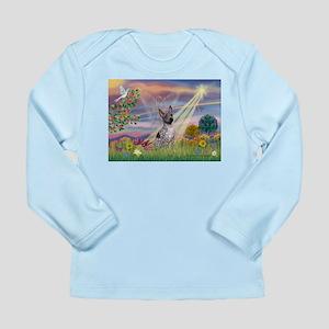 Cloud Angel & AHT Long Sleeve Infant T-Shirt