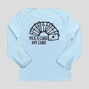 Pick A Card Long Sleeve Infant T-Shirt