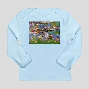 Lilies2-Am.Hairless T Long Sleeve Infant T-Shirt