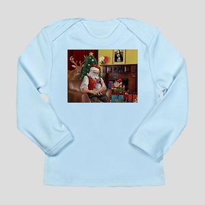 Santa Claus & His AHT Long Sleeve Infant T-Shirt