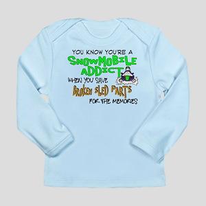 Sled Parts Memories Long Sleeve Infant T-Shirt