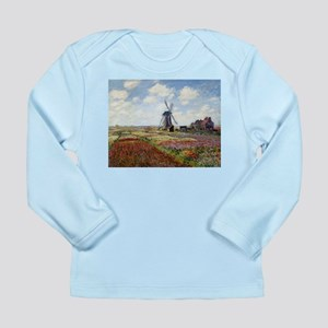 Monet Fields Of Tulip Long Sleeve Infant T-Shirt