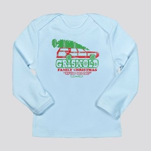 Long Sleeve Infant Griswold Christmas T-Shirt