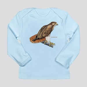 Red-Tailed Hawk Bird Long Sleeve Infant T-Shirt