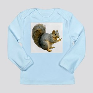 Peace Squirrel Long Sleeve Infant T-Shirt