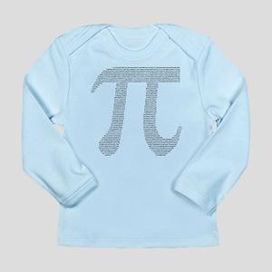 Digits of Pi Long Sleeve Infant T-Shirt