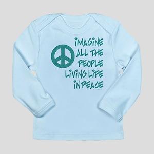 Imagine Peace Long Sleeve Infant T-Shirt