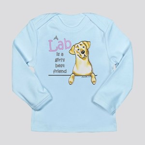 Yellow Lab BF Long Sleeve Infant T-Shirt