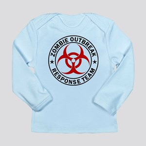 Zombie Outbreak Response Team Long Sleeve Infant T