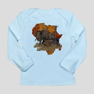 Safari Long Sleeve Infant T-Shirt
