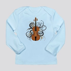 Violin Long Sleeve Infant T-Shirt
