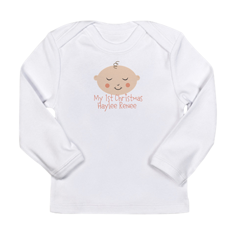 Personalize This 1st Christmas Long Sleeve T-Shirt