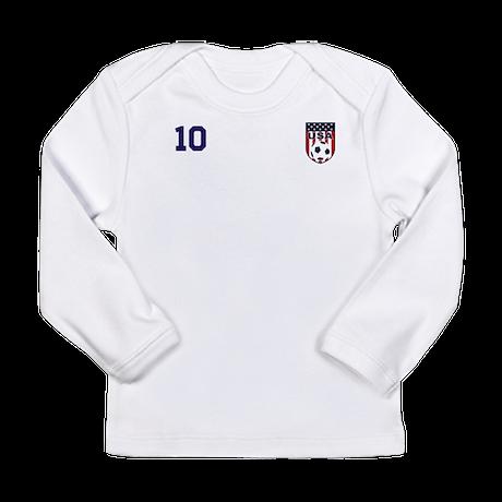 Custom USA Soccer T-Shirt Jersey Long Sleeve T-Shi
