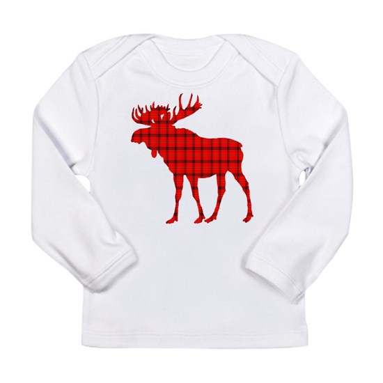 Moose: Rustic Red Plaid