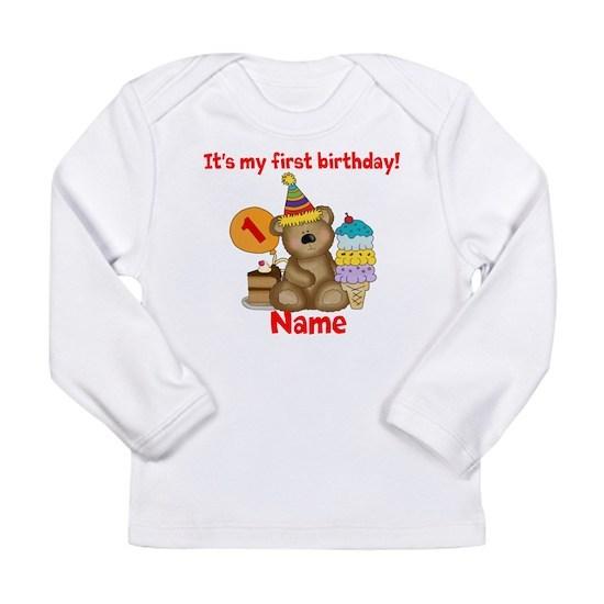 first birthday bear