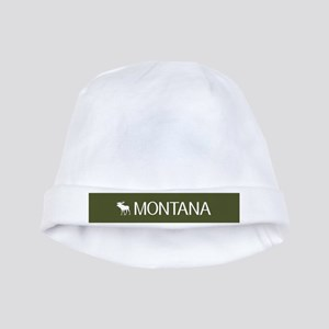 Montana: Moose (Mountain Green) baby hat