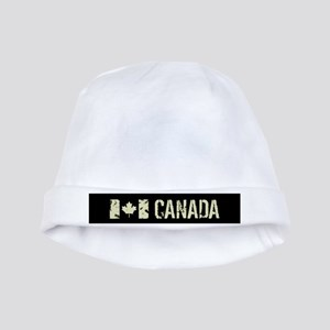 Canadian Flag: Canada Baby Hat