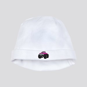 Pink MONSTER Truck Baby Hat