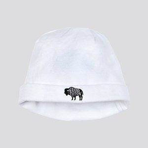Grand Teton Buffalo baby hat