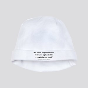 Mad Dog Quote baby hat