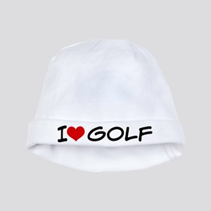 I Heart Golf baby hat