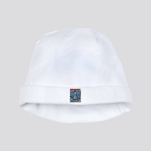 Colorful Cancer Angel baby hat