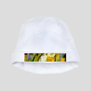 Yellow Daffodils baby hat