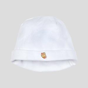 Monogram Initials in Wood Baby Hat