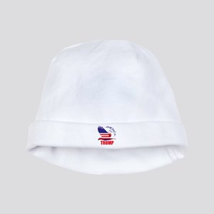 Trump America First Eagle baby hat