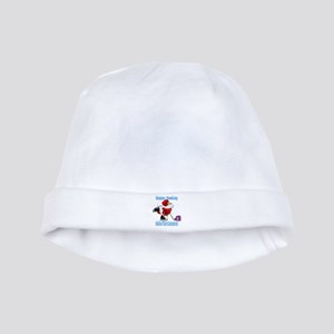 Hockey Christmas baby hat