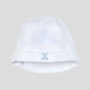 Zeidy Knows Jewish baby hat