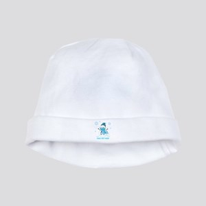 Cute Personalized Snowman baby hat