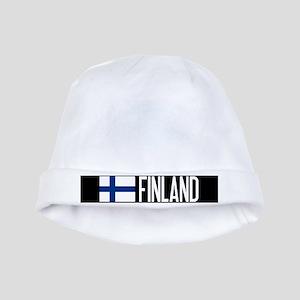 Finland: Finnish Flag & Finland baby hat