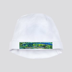 Monet - Water Lily Pond baby hat