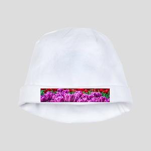 Tulip Field baby hat
