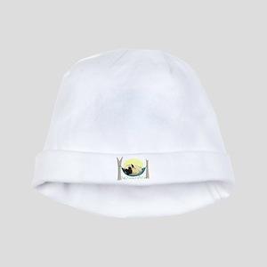Pug in a Hammock baby hat