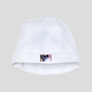 Welding: Welder & American Flag baby hat