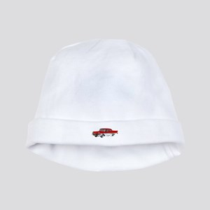 1958 Ford Fairlane 500 Red & White baby hat