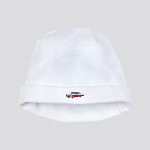 1958 Ford Fairlane 500 White & Red baby hat