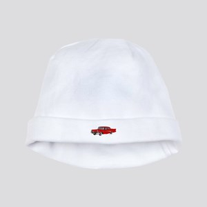 1958 Ford Fairlane 500 Red baby hat