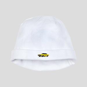 1970 Challenger Bright Yellow baby hat