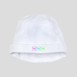 Goat Squares baby hat