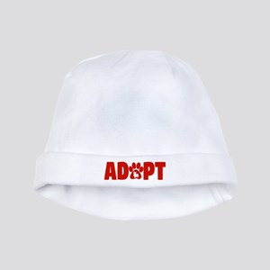 Cute Pets Paw Cat Dog Adopt Red Baby Hat