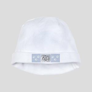 Keeshond (Beth) Baby Hat